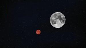 مقابله ماه و مریخ